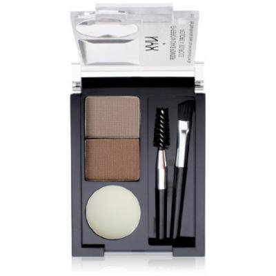 NYX Eyebrow Powder Taupe/ Ash (Pack of 3)