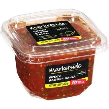 Manufactured For Marketside, A Division Of Walmart Stores, Inc. Marketside Fresh Garden Hot Salsa, 18 oz