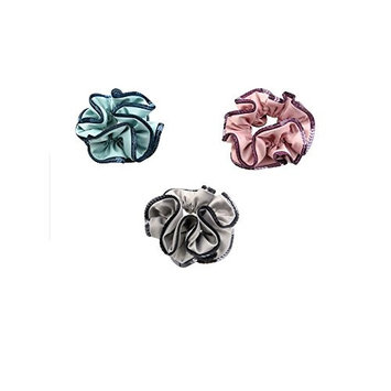 3PCS Beautiful Elegant Hair Scrunchie Band Elastics Ponytail Holder Hair Rope Ties Hair Accessories For Women Girls Gifts