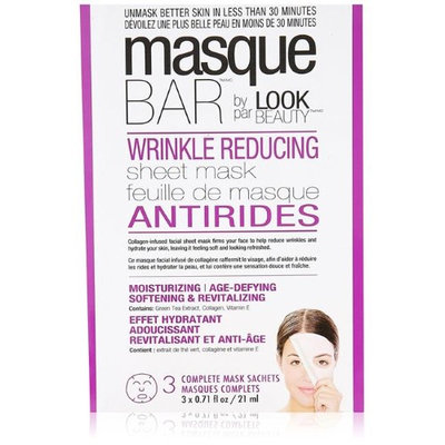 Look Beauty Products 00241W Masque Bar Wrinkle-reducing Sheet Mask 3 masks