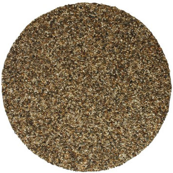 Tricc RLGFMR1516 40 in. Round Grill & Fire Pit Mat - Natural