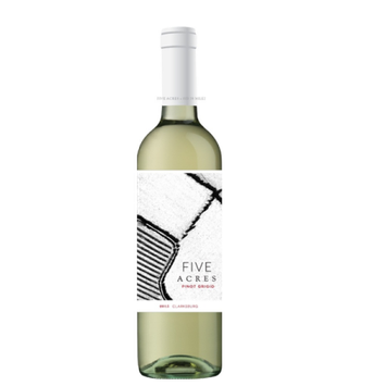 Five Acres Pinot Grigio Wine, 750 mL