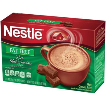 NESTLE HOT COCOA Mix Fat Free Rich Milk Chocolate Flavor 7.33 Oz. [number_of_pieces: number_of_pieces-8]