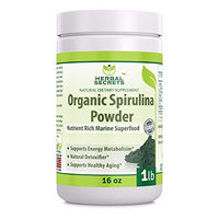 Herbal Secrets Organic Spirulina Powder 1lb