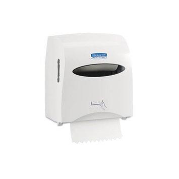 Scott Slimroll Hard Roll Paper Towel Dispenser, Touchless, Pull Towel (10442), White