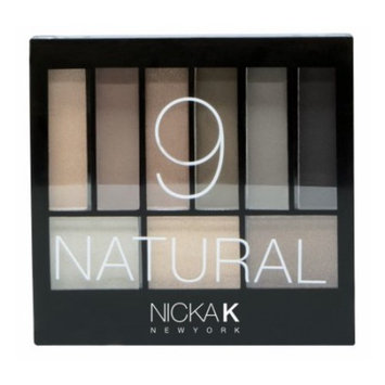 NICKA K Perfect 9 NATURAL Eyeshadow Palette Set