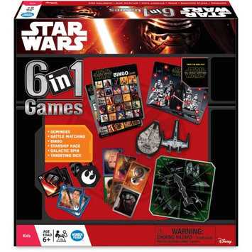 The Wonder Forge Games - Star Wars - The Force Awakens 6-in-1 Game New 1360