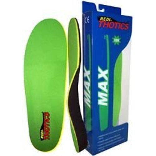 Redi-Thotics Max Orthotic Insoles - Size F
