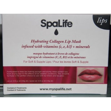 Spalife Hydrating Collagen Lip Mask (Contains 6 Treatments) by Spa life