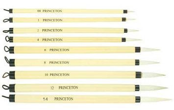 Princeton Art & Brush Co - Bamboo Brush - 2