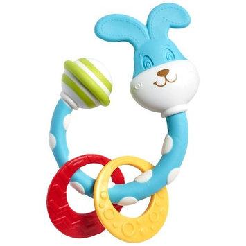 Tiny Love Smarts Teether Rattle, Bunny
