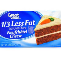 Great Value Neufchâtel Cheese, 8 oz