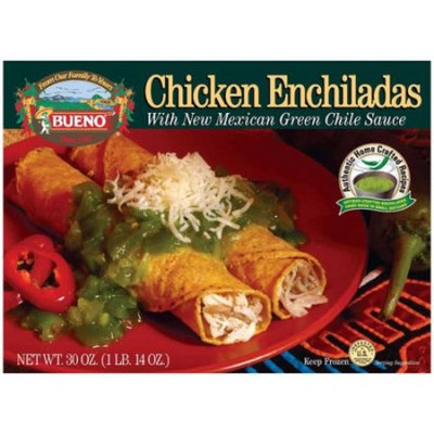 Bueno Chicken Enchiladas with New Mexican Green Chile Sauce, 30 oz