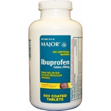 Major Pharm Ibuprofen, 200 Mg- 500 Tab