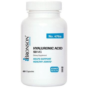 Bronson Hyaluronic Acid 50 mg, 60 Capsules