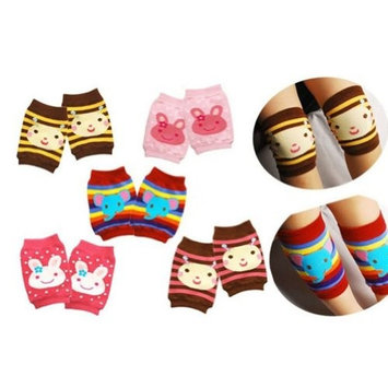 HuntGold Baby Toddler Walk Protection Cotton Soft Warm Short Cartoon Kneecap Knee Pads(random color)