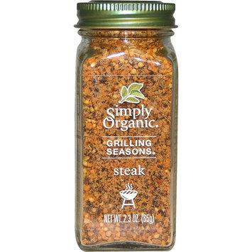 Simply Organic, Grilling Seasons, Steak, Organic, 2.3 oz (Pack of 2)