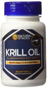 Natural Stacks - Krill Oil - 60 Softgels