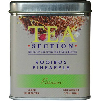 Tea Section Passion Rooibos Pineapple Loose Herbal Tea, 3.52 oz
