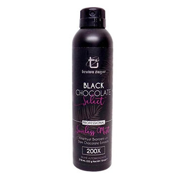 Tan Inc. Brown Sugar Black Chocolate Triple Black Bronzing Sunless Mist, 7.4 oz