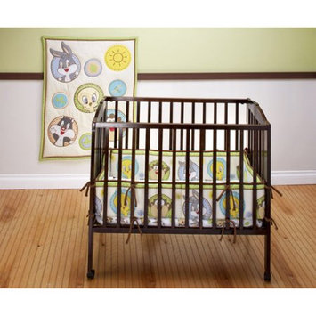 Warner Brothers Baby Looney Tunes - Tweety Circles 3-Piece Portable Crib Bedding Set