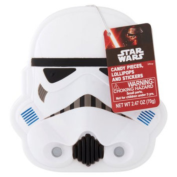 Star Wars Candy Pieces, Lollipops and Stickers, 2.47 oz