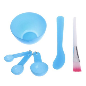 BecauseOf DIY Facial Mask Mixing Bowl Set Brush Spoons Tools Set