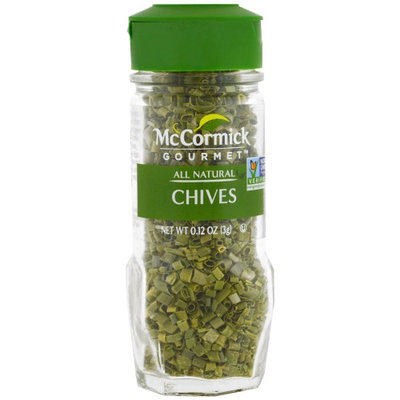 McCormick Gourmet, All Natural Chives, 0.12 oz