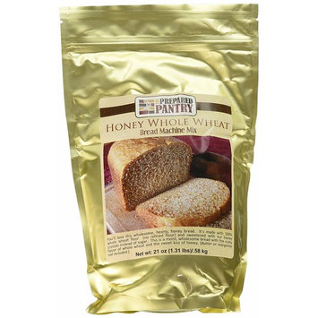 The Prepared Pantry Honey Whole Wheat Bread Machine Mix, 84 Ounce