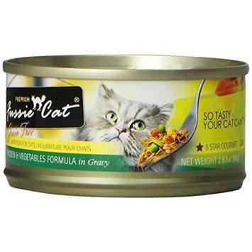Fussie Cat Premium Chicken with Vegetables in Gravy Cat Food - 24-2.82-oz. Cans