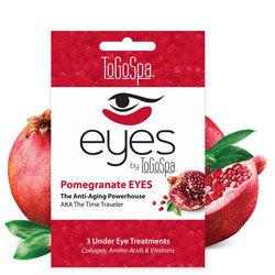 ToGoSpa Pomegranate Refreshing Ice Water Eye Mask 3 piece