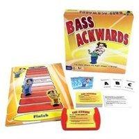 Pressman Toy Bass Ackwards Ages 13+, 1 ea