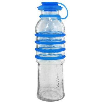 Bottlesup Glass B-BU-01 22 oz Glass Water Bottle - Blue