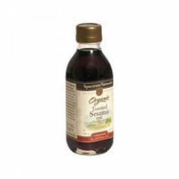 Spectrum Naturals Unrefined Toasted Sesame Oil (8 Oz) - Pack Of 1