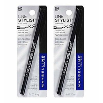 Maybelline New York Line Stylist Eyeliner, Onyx 600, 2 Ea by Voronajj