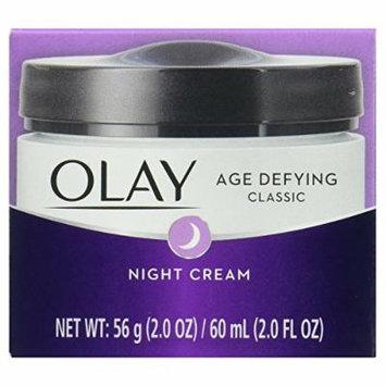 OLAY Age Defying Classic Night Cream 2.0 oz ( Packs of 2)