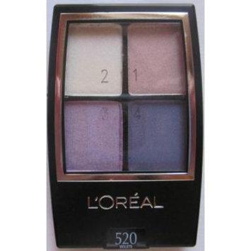 L'oreal Wear Infinite Eyeshadow Quad, Eva's Violets 520, 2 Ea