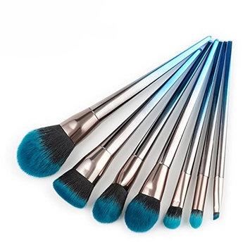 Engdash Professional Makeup Brushes Set Makeup Brushes Tool Kit Soft Makeup Brushes 7pcs Set Metal Wooden Handle Makeup Brushes Set