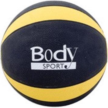 BodySport Medicine Balls-Yellow, 8lb, Each