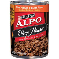 ALPO® CHOP HOUSE® Filet Mignon & Bacon Flavors Cooked In Savory Juices