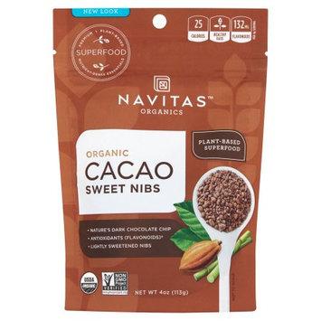 Navitas Organics Navitas, Cacao Nibs Sweetend Org, 4 Oz (Pack Of 12)