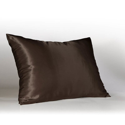 Sweet Dreams Luxury Satin Pillowcase with Zipper, (Silky Satin Pillow Case for Hair) By Shop Bedding