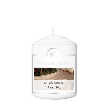Classic Wax CC015.1896 Votive Simple Breeze Candles Pack of 18