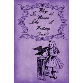 Createspace Publishing Alice in Wonderland Journal - Why Is A Raven Like A Writing Desk? (Purple): 100 page 6