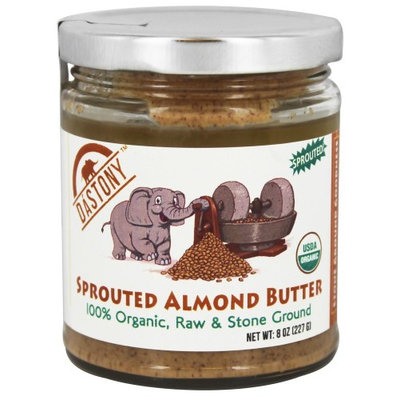 Dastony - 100% Organic Sprouted Almond Butter - 8 oz(pack of 6)