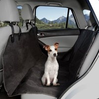 Trademark Global Games Pet Seat Cover Car Protector- Bench Hammock Backseat Liner, Quilted Waterproof All Weather Mat with Non-Slip Backing for Car/Truck/SUV by PETMAKER