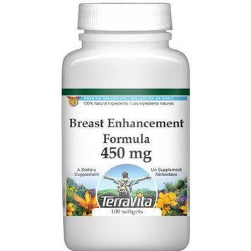 Breast Enhancement Formula - Fenugreek, Saw Palmetto and Wild Yam - 450 mg (100 capsules, ZIN: 514008)