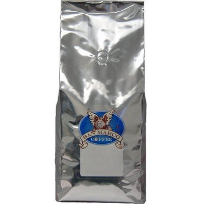 San Marco Coffee Flavored Ground Coffee, Raspberetto, 2 Pound [Raspberetto]
