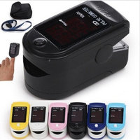 HUGECARE CMS 50D+ Blue Finger Pulse Oximeter with USB and Sofware