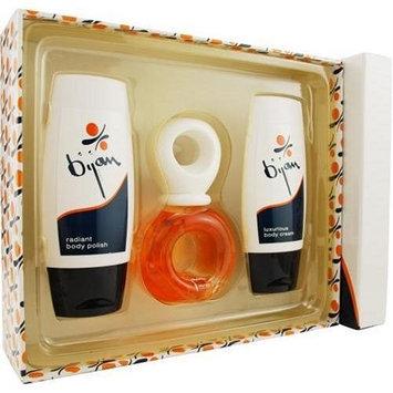 Bijan By Bijan For Women. Set-edt Spray 2.5 OZ & Body Cream 3.3 OZ & Body Polish 3.3 OZ